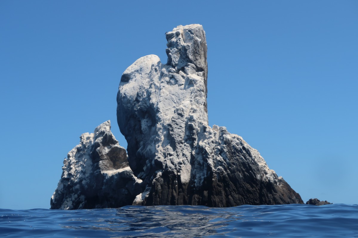Roca Partida, from the surface