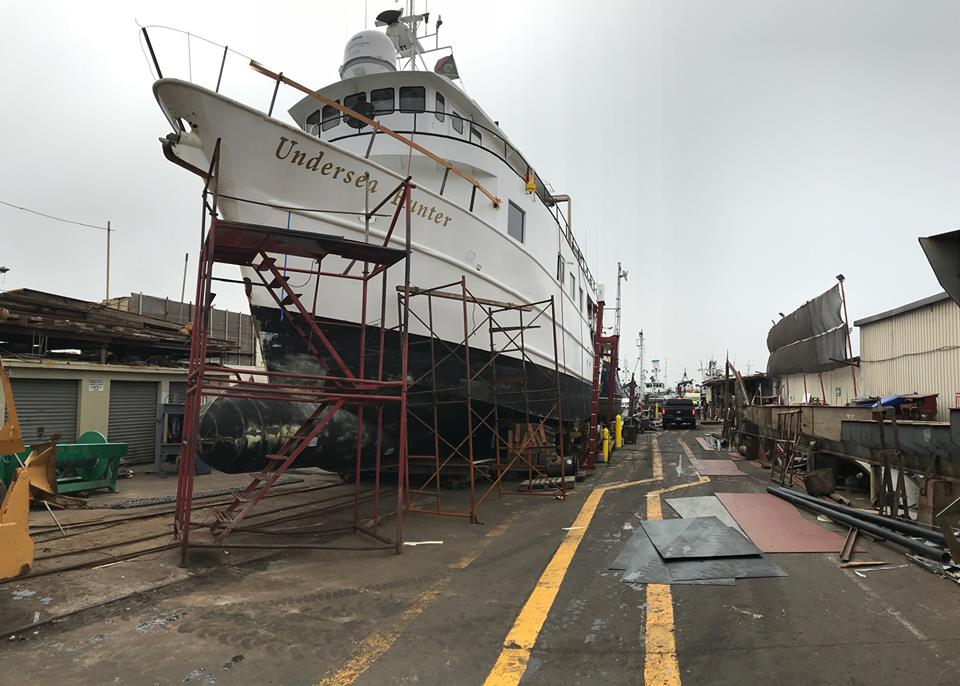 Undersea Hunter begins refit