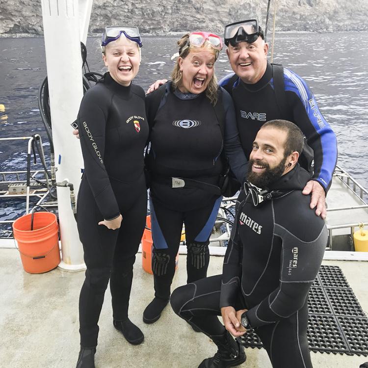 Friends on the Nautilus Belle Amie