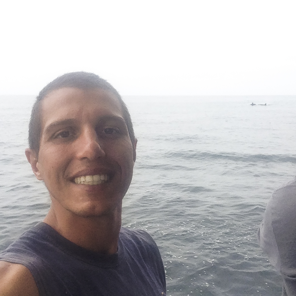 DM Felipe's Orca Selfie