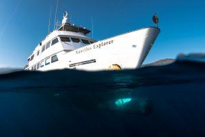 Nautilus Explorer at Socorro Island