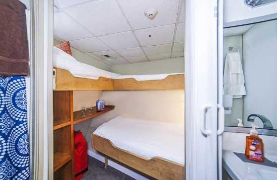 Nautilus Belle Amie  triple occupancy stateroom