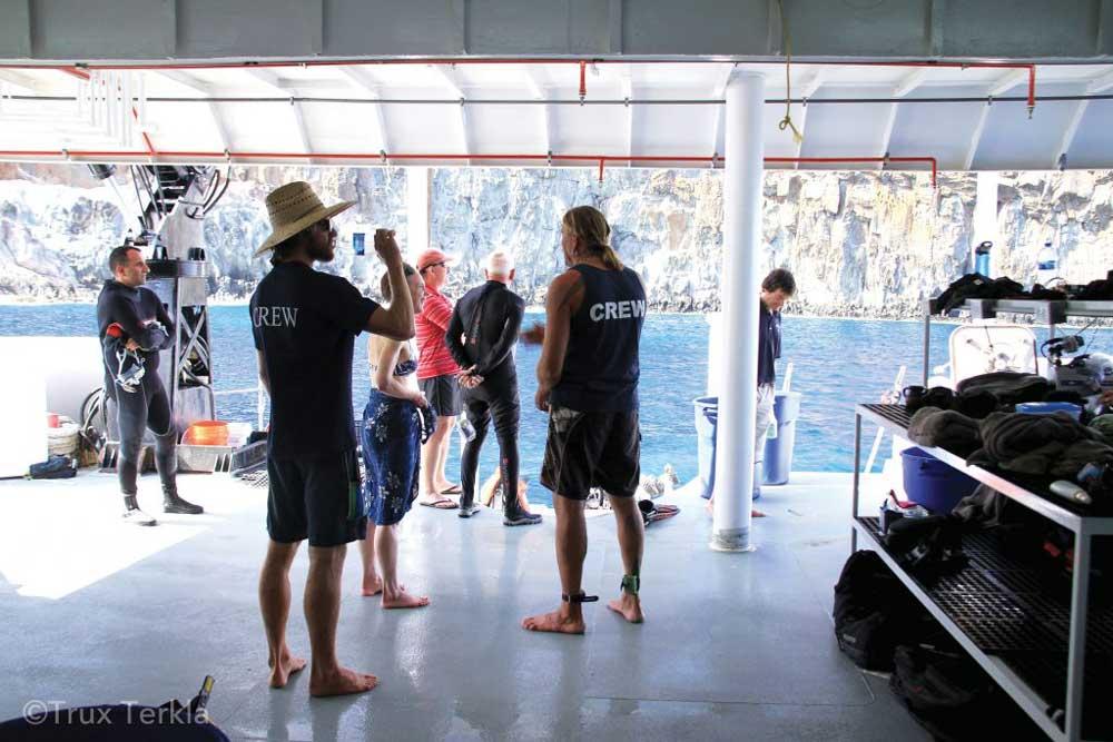 Nautilus Belle Amie Huge Dive Deck