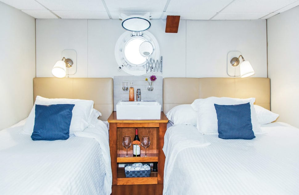 Stateroom  on Explorer lower deck