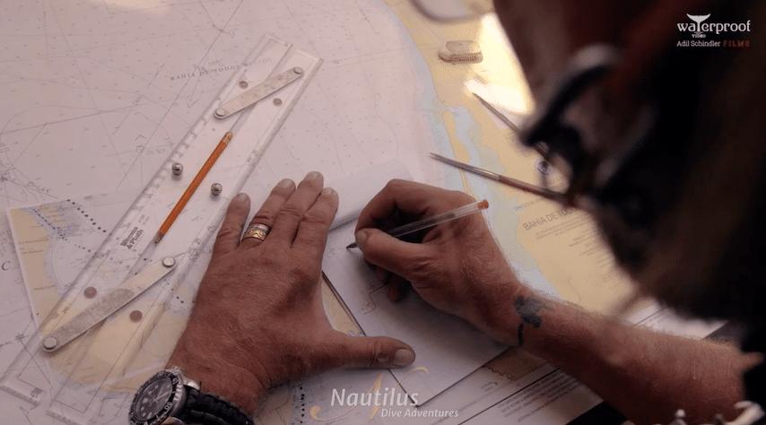 Navigation around Isla Espiritu Santo