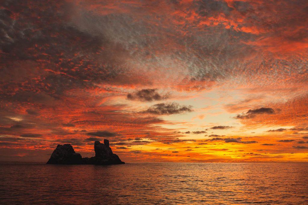 sunset Roca Partida